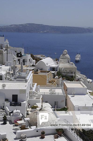Europa Santorin Griechenland Oia Ia