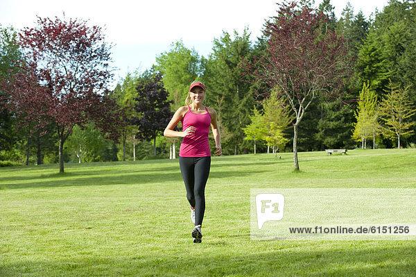 rennen  Feld  Jogger