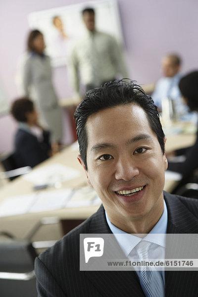 Geschäftsmann  Hintergrund  Kollege