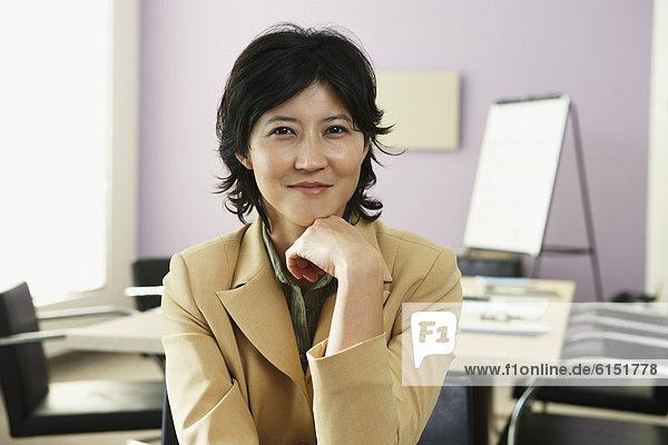 Geschäftsfrau  Geschäftsbesprechung  Zimmer  Konferenz