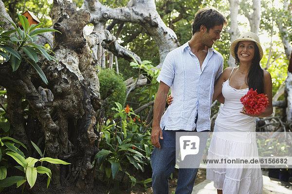 Mann  Freundin  lächeln  Südamerika
