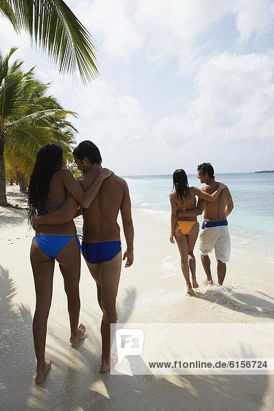 gehen  Strand  Südamerika