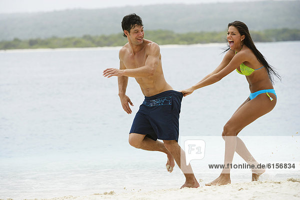 Strand  Südamerika  spielen
