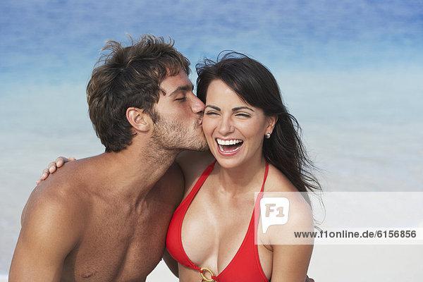 Mann  küssen  Südamerika