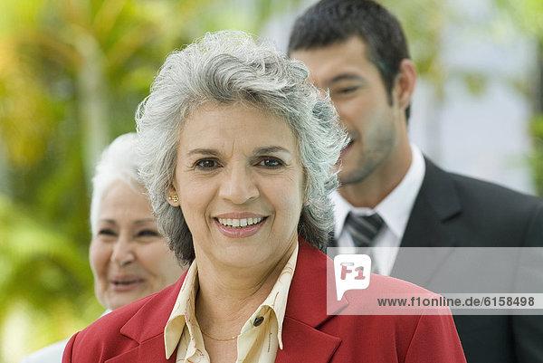 Portrait of Hispanic businesswoman