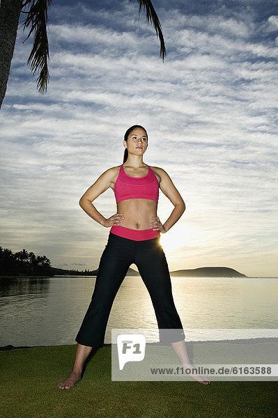 Frau  Pazifischer Ozean  Pazifik  Stiller Ozean  Großer Ozean