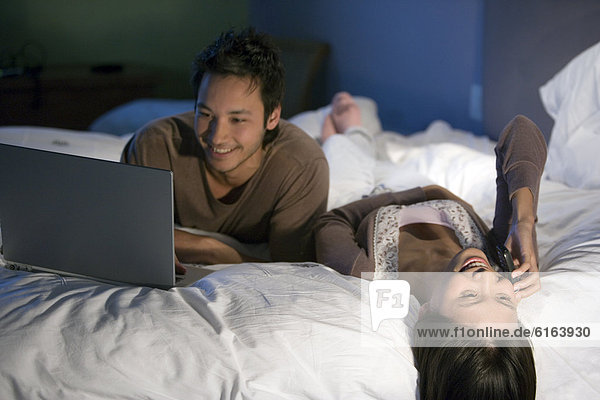 Entspannung  Bett