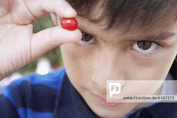 Junge - Person  Hispanier  halten  Süßigkeit  Stück Junge - Person ,Hispanier ,halten ,Süßigkeit ,Stück