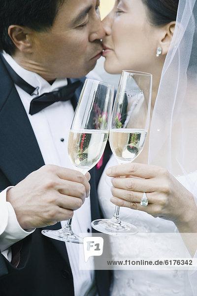 Hochzeit  küssen