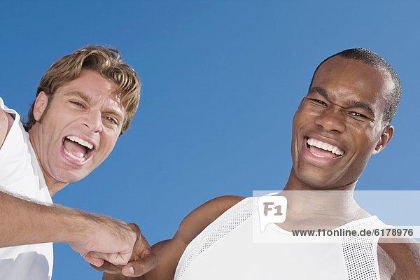 Mann  lachen  multikulturell Mann ,lachen ,multikulturell