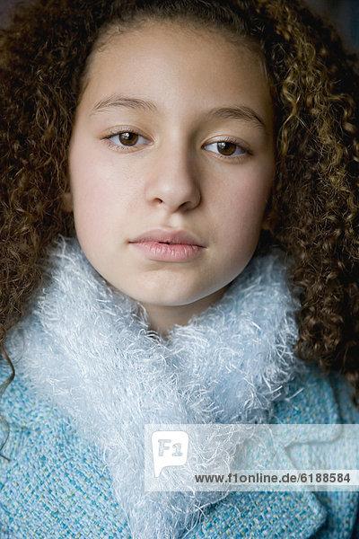 Schal  Jacke  mischen  Mädchen  Mixed