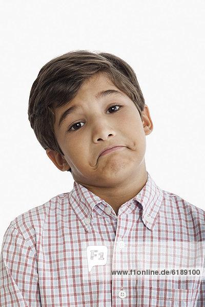 Junge - Person  Hispanier  Zweifel