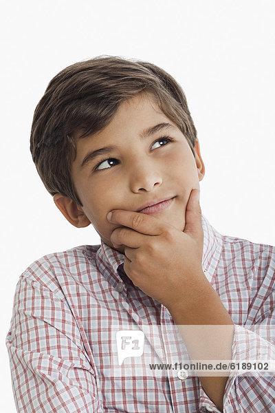 Junge - Person  Hispanier  denken