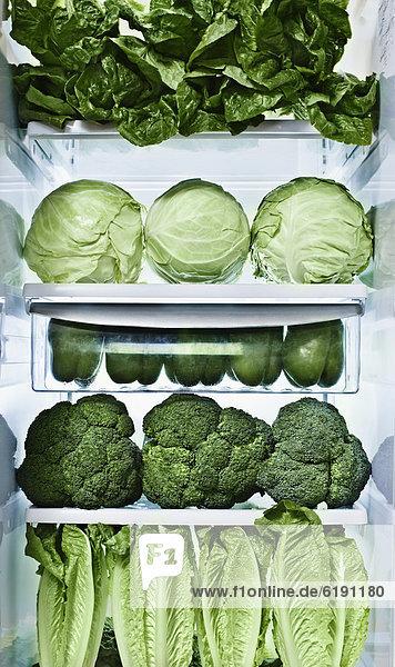 grün Gemüse Kühlschrank