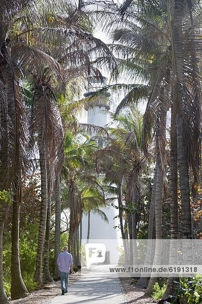 Tropisch  Tropen  subtropisch  Mann  gehen  Weg  Hispanier