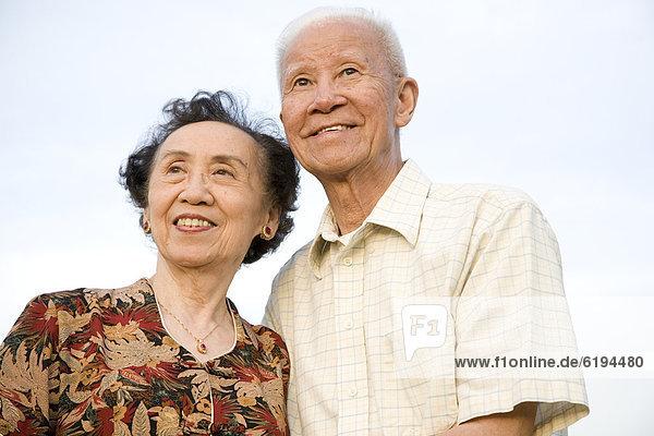 Senior  Senioren  lächeln  chinesisch