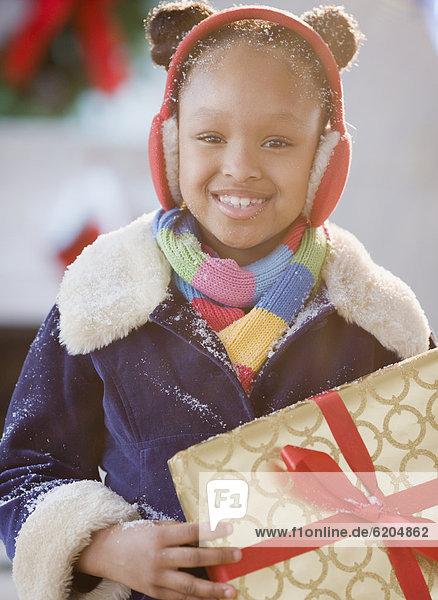 halten amerikanisch Ohrenschützer Mädchen Weihnachtsgeschenk