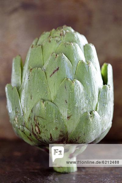 Close up of artichoke