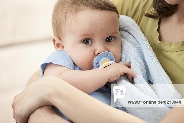 Europäer Junge - Person Schnuller Baby