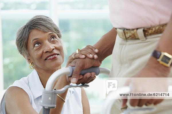 benutzen Frau Motivation wandern Ehemann