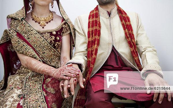 Braut  Bräutigam  Hochzeit  Tradition  Kleidung  Indianer