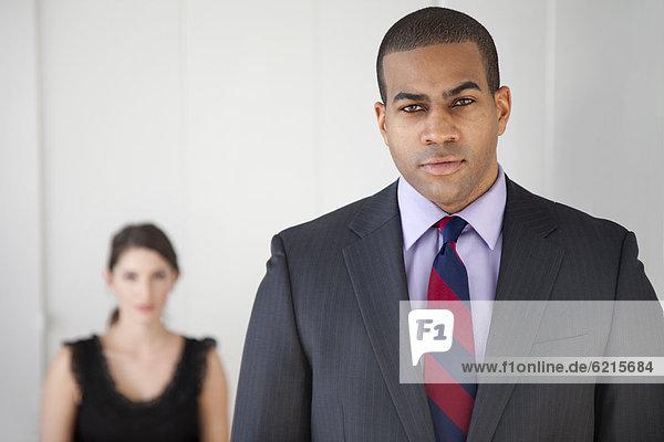 Geschäftsmann  ernst  schwarz