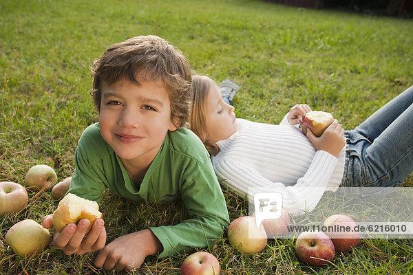liegend  liegen  liegt  liegendes  liegender  liegende  daliegen  Bruder  Schwester  mischen  Apfel  Gras  Mixed