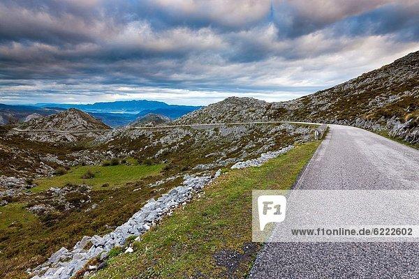 nahe, Ansicht, Mirador, Nationalpark Picos de Europa