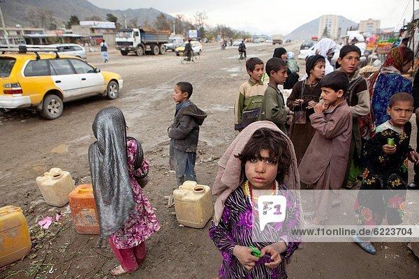 Kabul  Hauptstadt  Mädchen  Ghetto