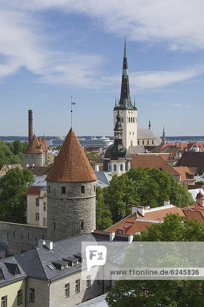 Dach  Europa  Kirche  Ansicht  Heiligkeit  Estland  Geist