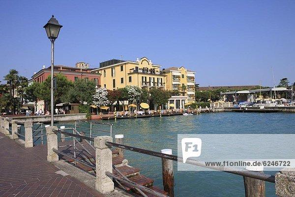 Europa  Italien  Gardasee  Lombardei  Sirmione