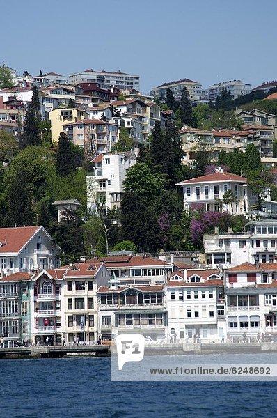 Der Bosporus  Istanbul  Türkei  Europa