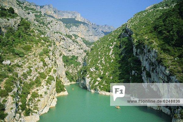 Frankreich  Europa  Ehrfurcht  Provence - Alpes-Cote d Azur  Schlucht