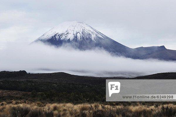 Pazifischer Ozean  Pazifik  Stiller Ozean  Großer Ozean  neuseeländische Nordinsel  Mount Ngauruhoe  Neuseeland