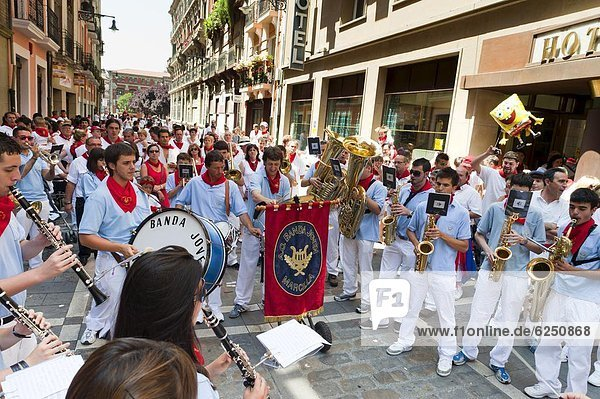 Europa  Pamplona  Spanien