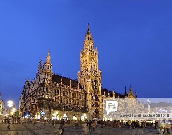 Deutschland  Marienplatz