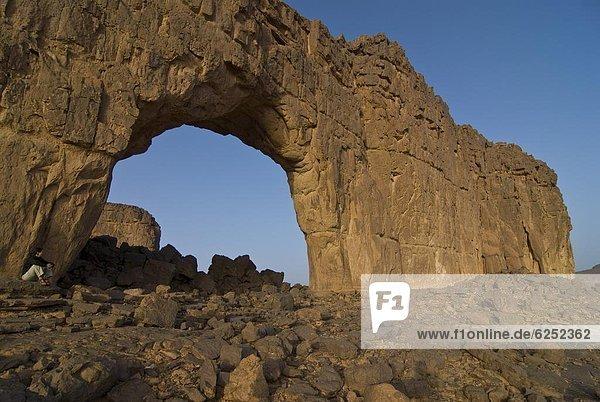 Nordafrika  Felsbrocken  Brücke  Geographie  Afrika
