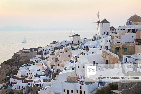 Europa Kykladen Ägäisches Meer Ägäis Griechenland Griechische Inseln