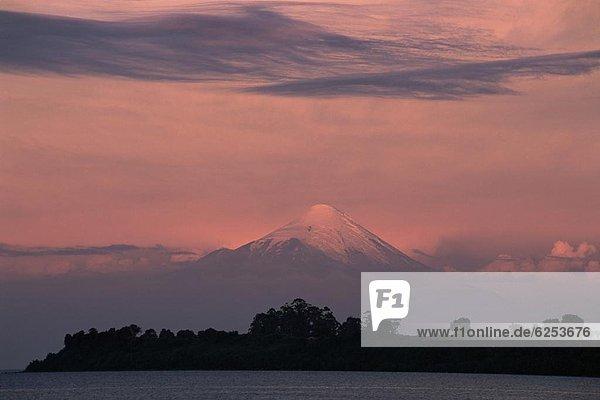 See  Vulkan  Llanquihue  Osorno  Chile  Südamerika