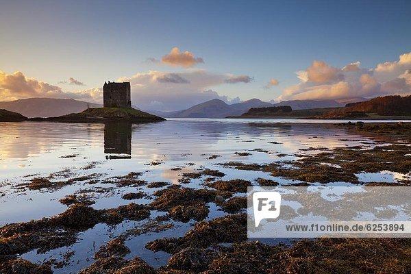 gebraucht Europa Großbritannien Argyll Film Highlands Schottland Sonnenuntergang