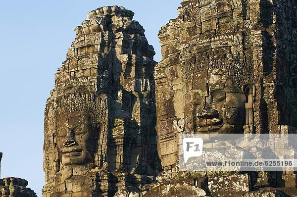 Bayon temple  dating from the 13th century  Angkor  UNESCO World Heritage Site  Siem Reap  Cambodia  Indochina  Southeast Asia  Asia