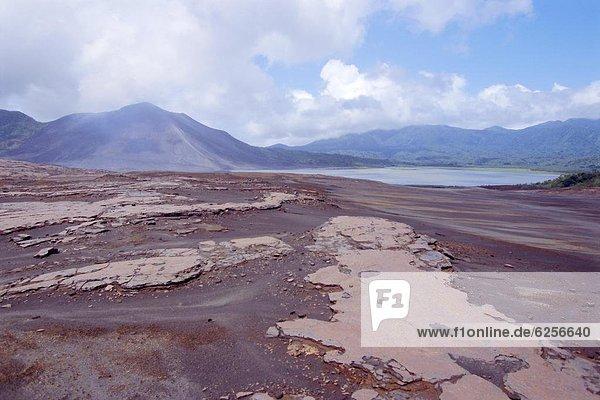 Aktion  Vulkan  Insel  Pazifischer Ozean  Pazifik  Stiller Ozean  Großer Ozean  Vanuatu