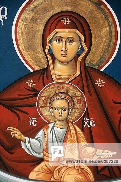Europa  Griechenland  Zeichnung  Mazedonien  Regenwald  russisch orthodox  russisch-orthodox  griechisch