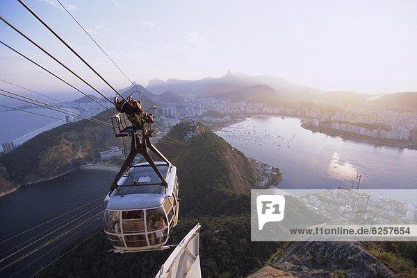 Seilbahn Brasilien Rio de Janeiro Südamerika