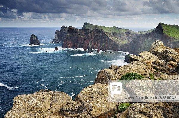 Ponta do Castelo  Madeira  Portugal  Atlantik  Europa