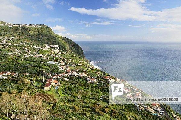 Europa Atlantischer Ozean Atlantik Madeira Portugal