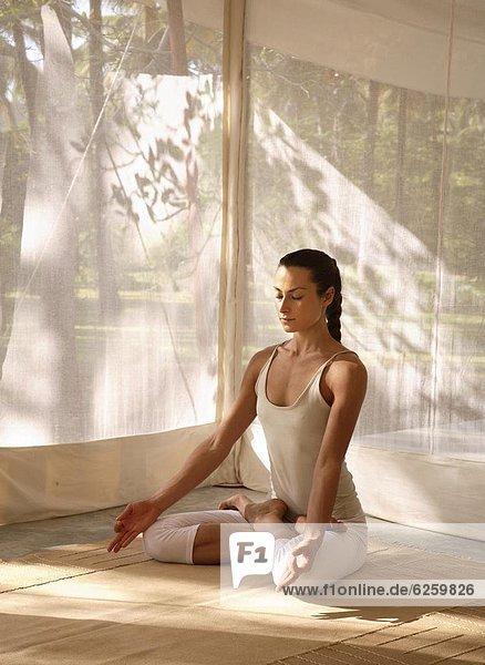 Yoga  Asien  Bangalore  Indien