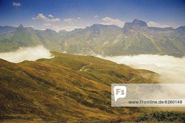 Frankreich  Europa  Aquitanien  Pyrenäen
