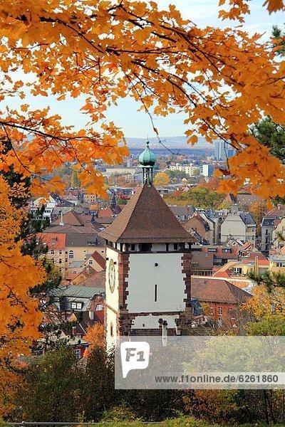 Europa  Freiburg im Breisgau  Baden-Württemberg  Deutschland  Schwabentor