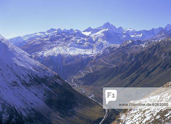 Europa  Ansicht  Westalpen  Schweiz